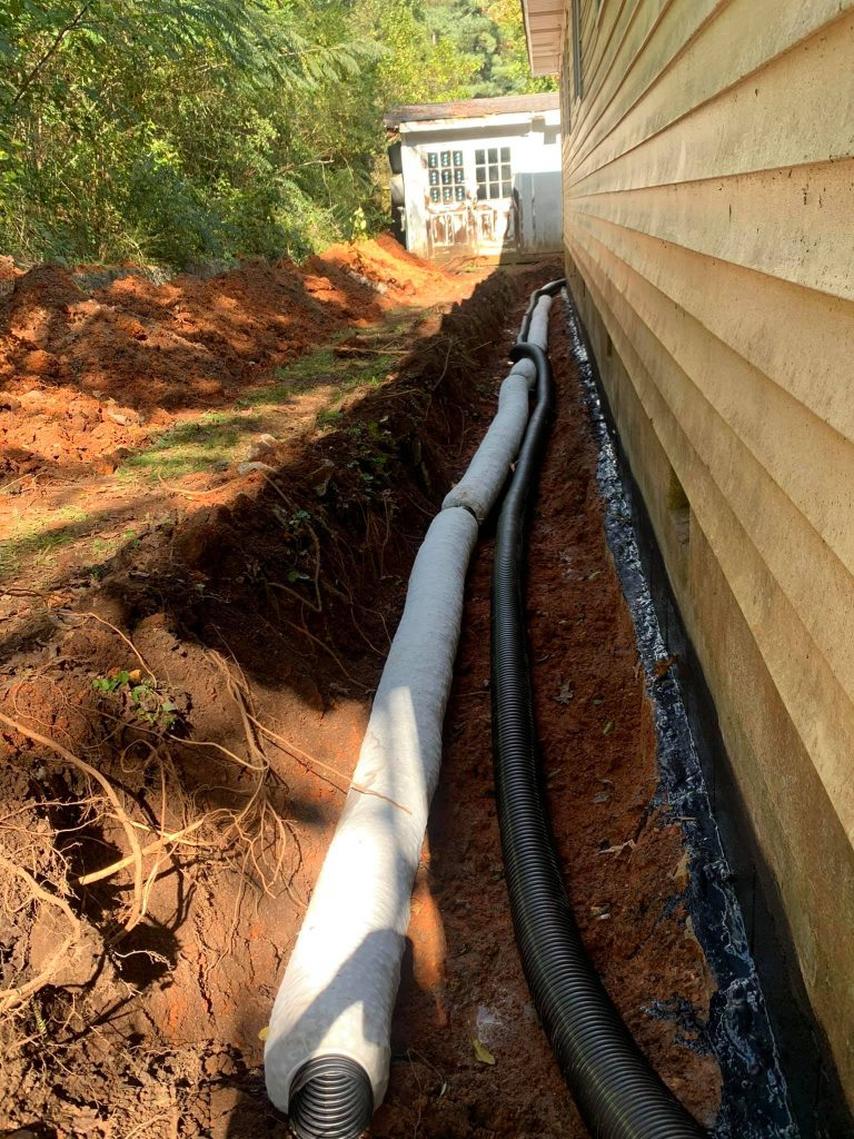 French Drain General Contractor